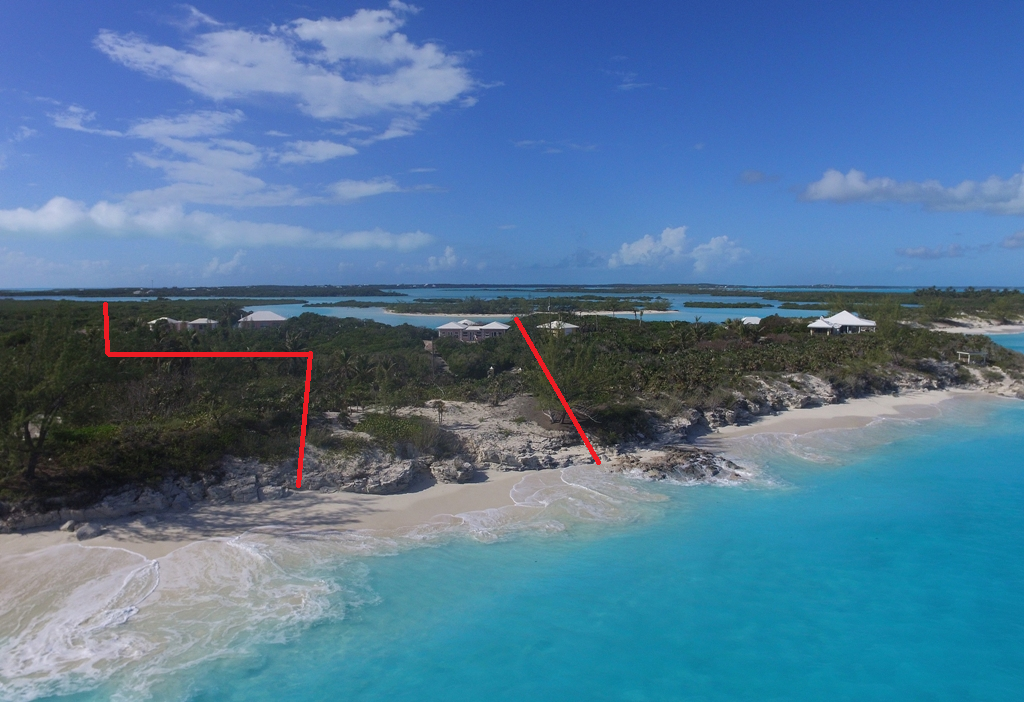 Eensgezinswoning voor Verkoop een t The Cut House Sea-to-Sea Property, Little Exuma Exumas, Bahama Eilanden