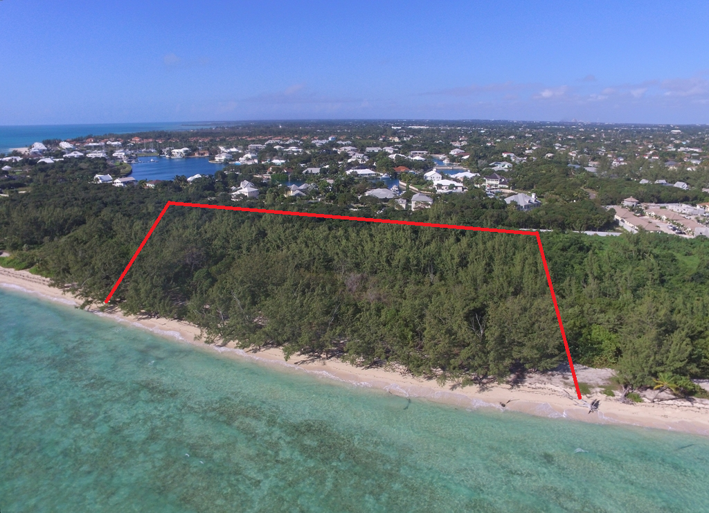 γη / παρτίδα για την Πώληση στο Priced to sell Beachfront development parcel with 600 ft. of beach frontage Nassau New Providence And Vicinity