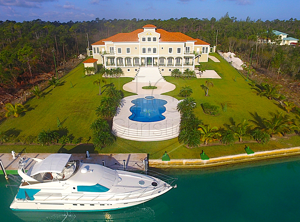 Single Family Home for Sale at Magnificent Waterfront Estate Grand Bahama, Bahamas