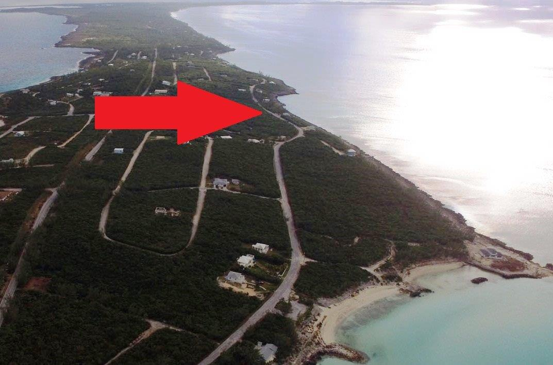 Land for Sale at Rainbow Bay Waterfront Lot!! Section C, Block 39, Lot 8 - MLS 26112 Rainbow Bay, Eleuthera, Bahamas