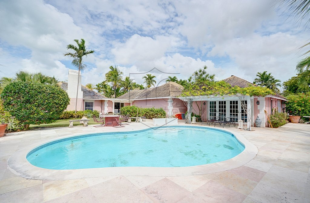 Single Family Home for Sale at Large Canal Front House With Land Bahamas