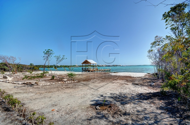 Land for Sale at Waterfront Building Lot fronting Elizabeth Harbour Flamingo Bay, Exuma, Bahamas