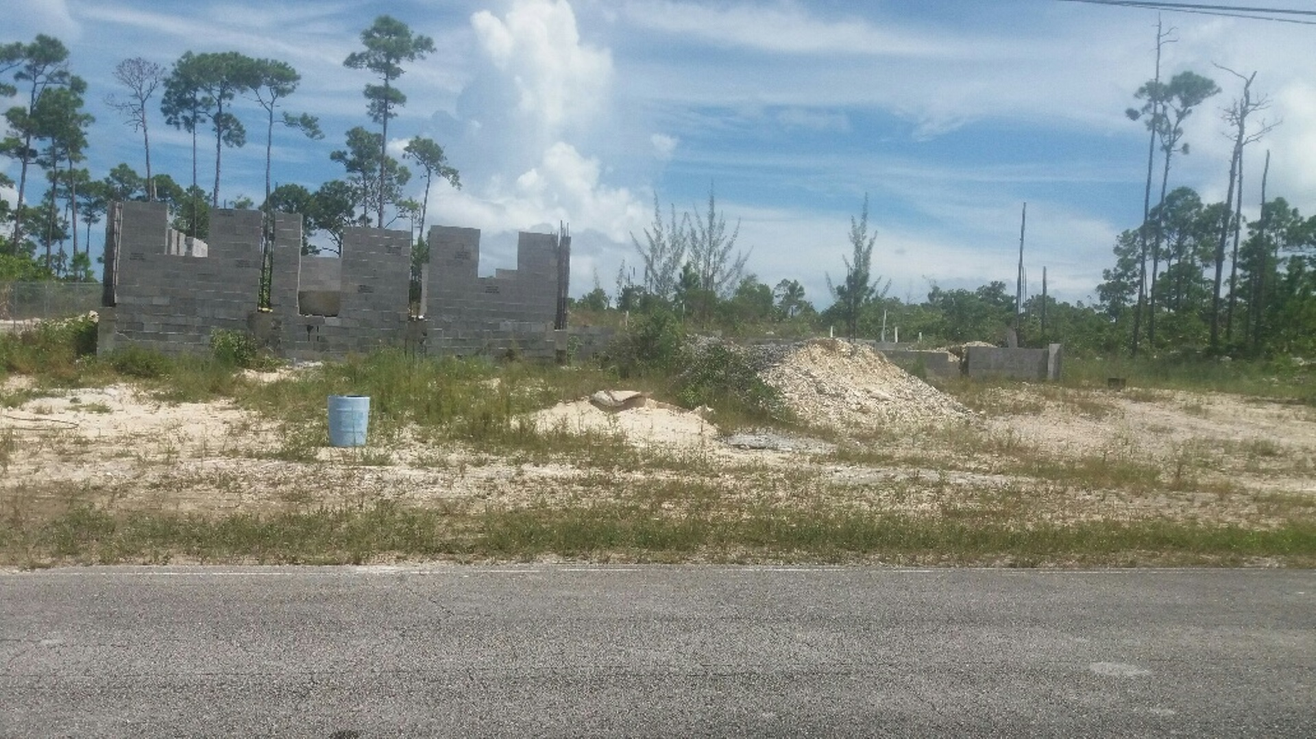 Land for Sale at Incomplete Building with approved plans Shannon, Grand Bahama, Bahamas