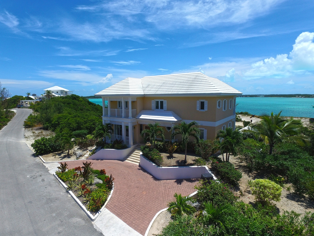 Single Family Home for Sale at February Point House with Elizabeth Harbour Views February Point, Exuma, Bahamas