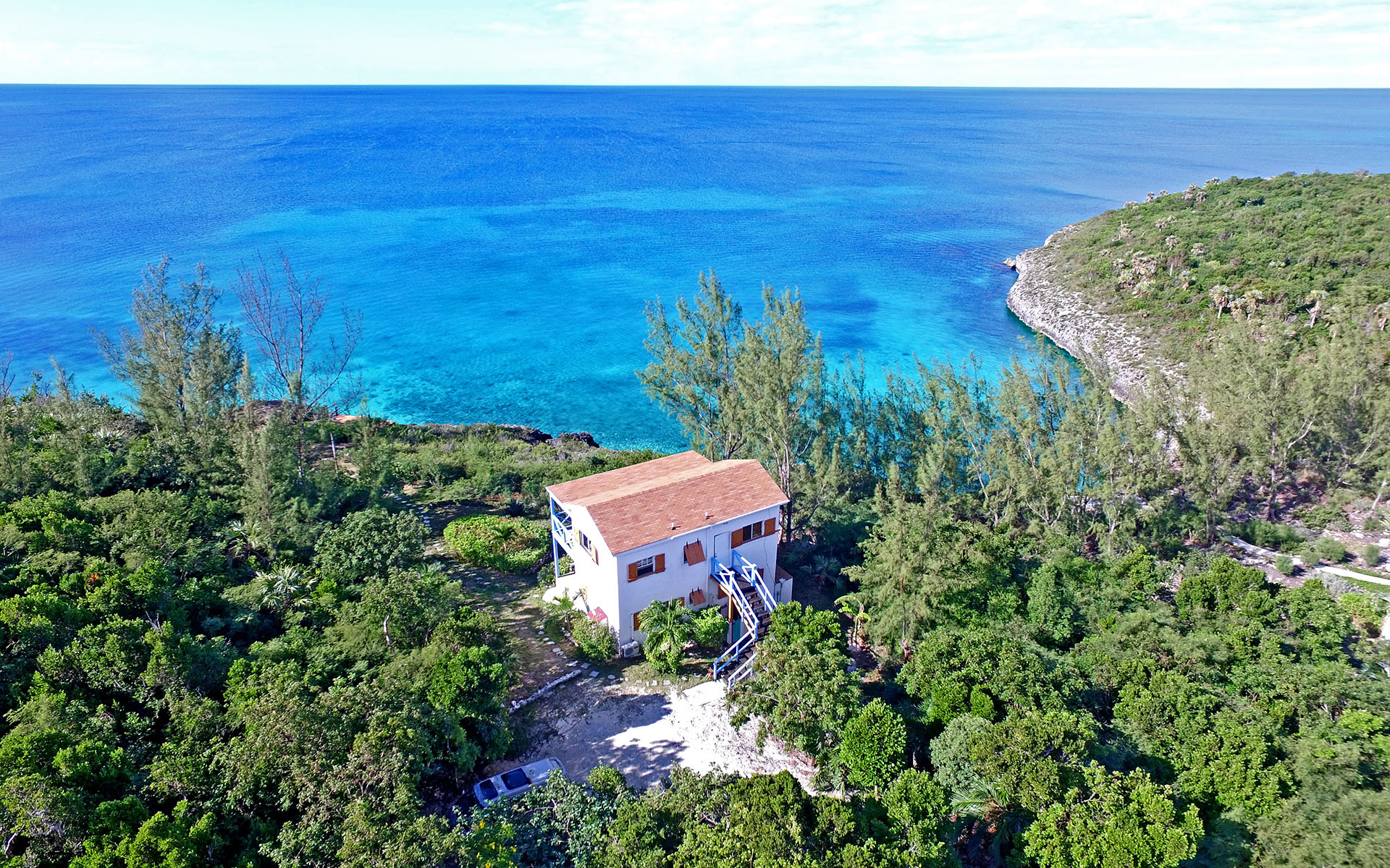 Single Family Home for Sale at Tropical Island Waterfront Villa Near Ten Bay Eleuthera / MLS 28729 Savannah Sound, Eleuthera, Bahamas