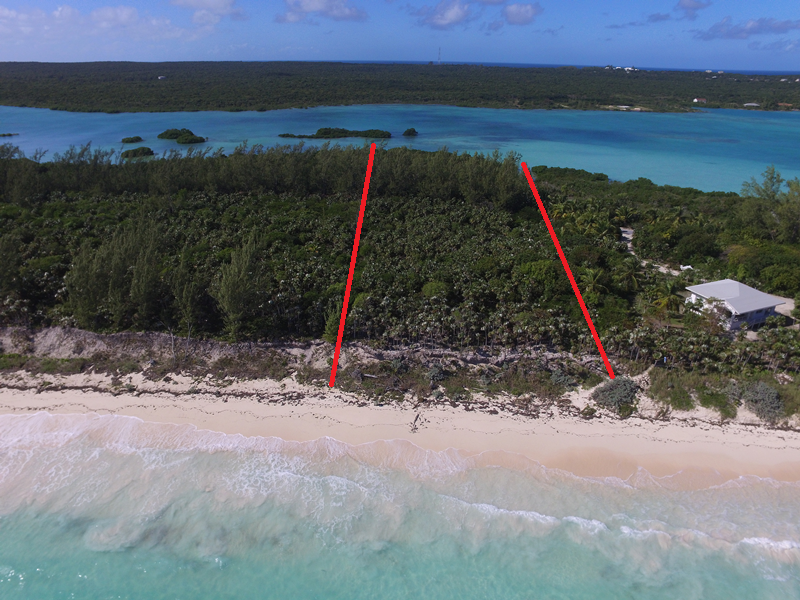 Arazi / diyar için Satış at Sea-to-Sea Beachfront Lot on Windermere Island (MLS 28415) Eleuthera, Bahamalar