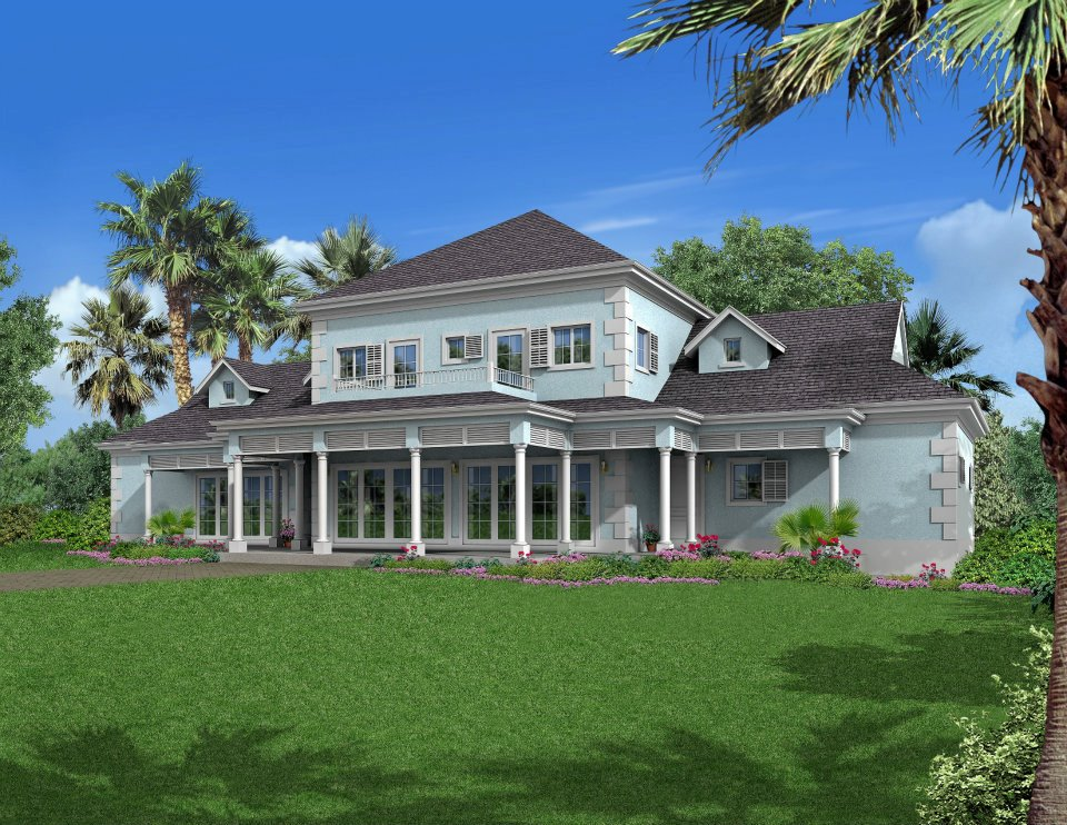 Частный дом для того Продажа на Madeira at Oakridge Estates Lakefront Community, Skyline Drive Nassau New Providence And Vicinity