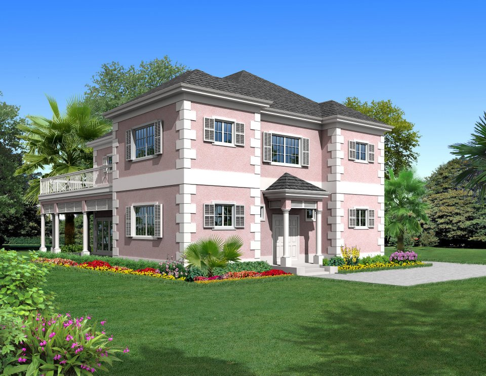 Tek Ailelik Ev için Satış at Flamboyant at Oakridge Estates Lakefront Community, Skyline Drive Nassau New Providence And Vicinity