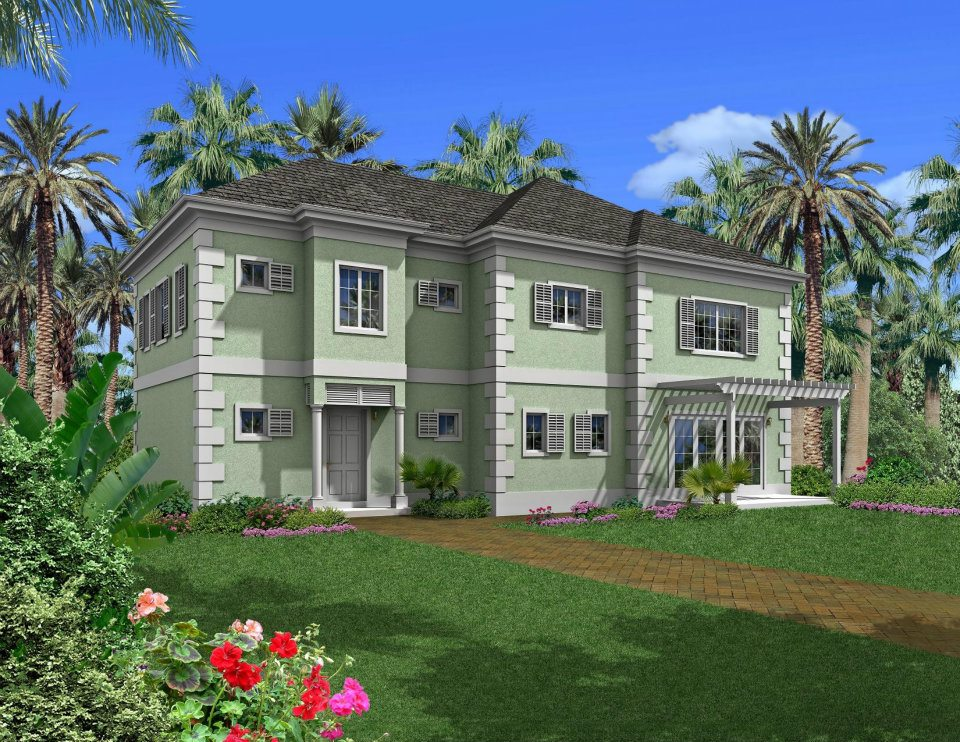 Single Family Home for Sale at Oleander at Oakridge Estates Lakefront Community, Skyline Drive Nassau And Paradise Island, Bahamas