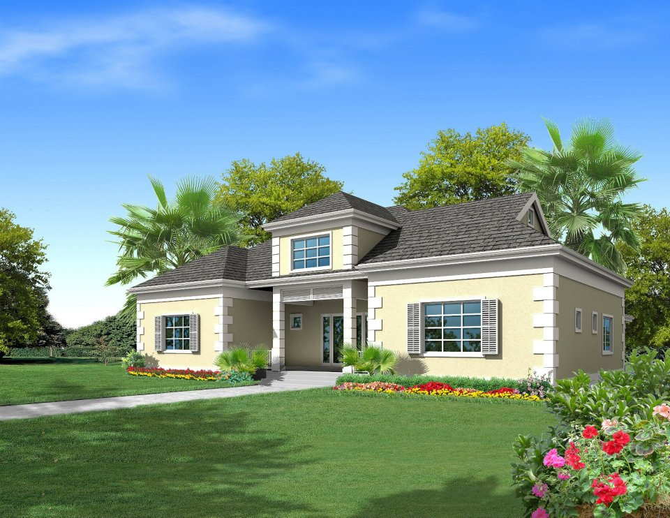 Casa para uma família para Venda às Frangipani at Oakridge Estates Lakefront Community, Skyline Drive Nassau New Providence And Vicinity