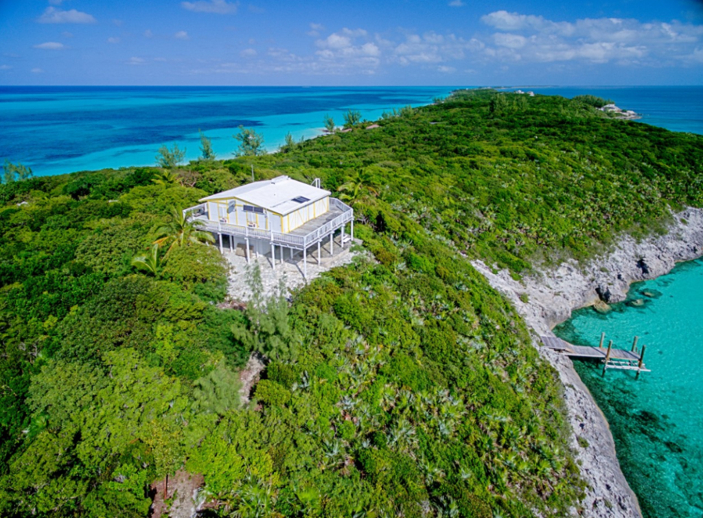 Single Family Home for Sale at Elevated Sea to beach Rose Island Home Rose Island, Bahamas