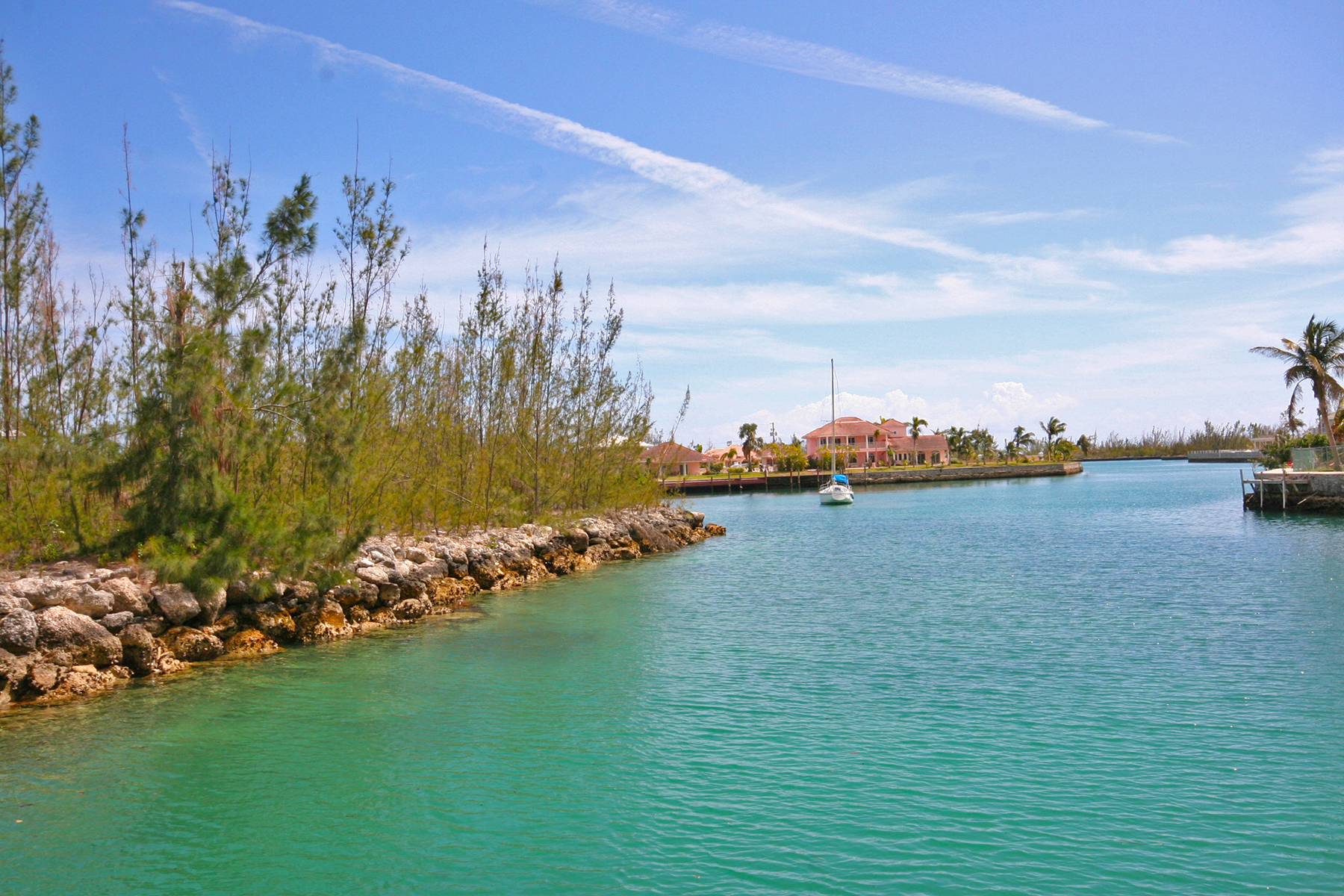 Land for Sale at Multi-Family Canal Lot near Port Lucaya and Beach Grand Bahama, Bahamas