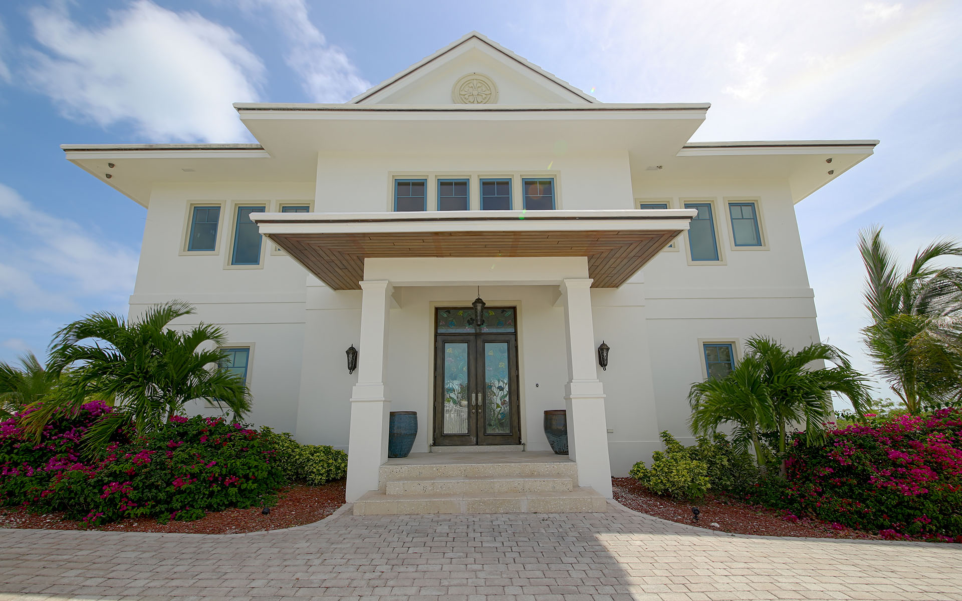Eensgezinswoning voor Verkoop een t White Heather - Estate Home with Expansive Ocean Views - MLS 30053 Exumas, Bahama Eilanden