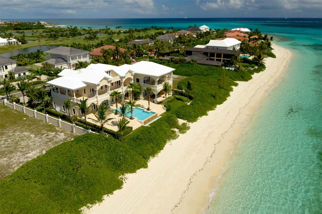 Single Family Home for Sale at Stunning Beachfront Ocean Club Estates Ocean Club Estates, Paradise Island, Nassau And Paradise Island Bahamas