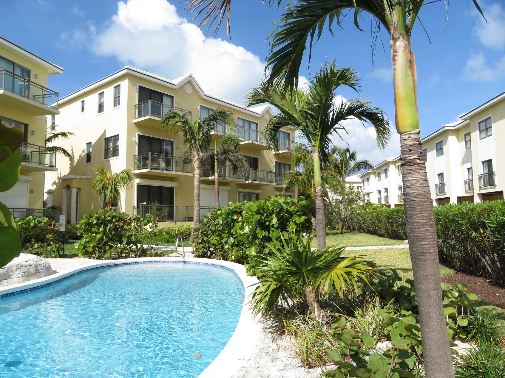 Co-op / Condo for Sale at Columbus Cove contemporary garden apartment - MLS 29815 Love Beach, Nassau And Paradise Island, Bahamas