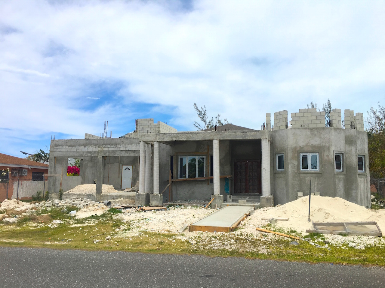Single Family Home for Sale at Incomplete Eastern Home Near Beach - MLS 30107 Nassau And Paradise Island, Bahamas