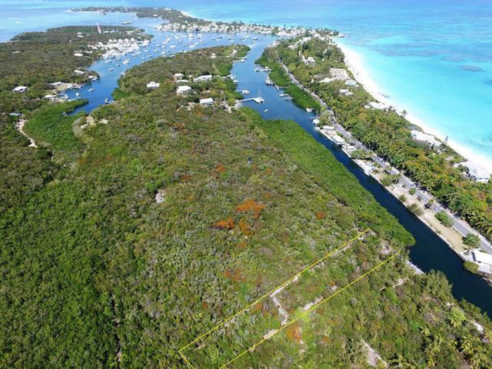 Land for Sale at Unique Opportunity in Hope Town offering great protection in harbour Elbow Cay Hope Town, Abaco, Bahamas