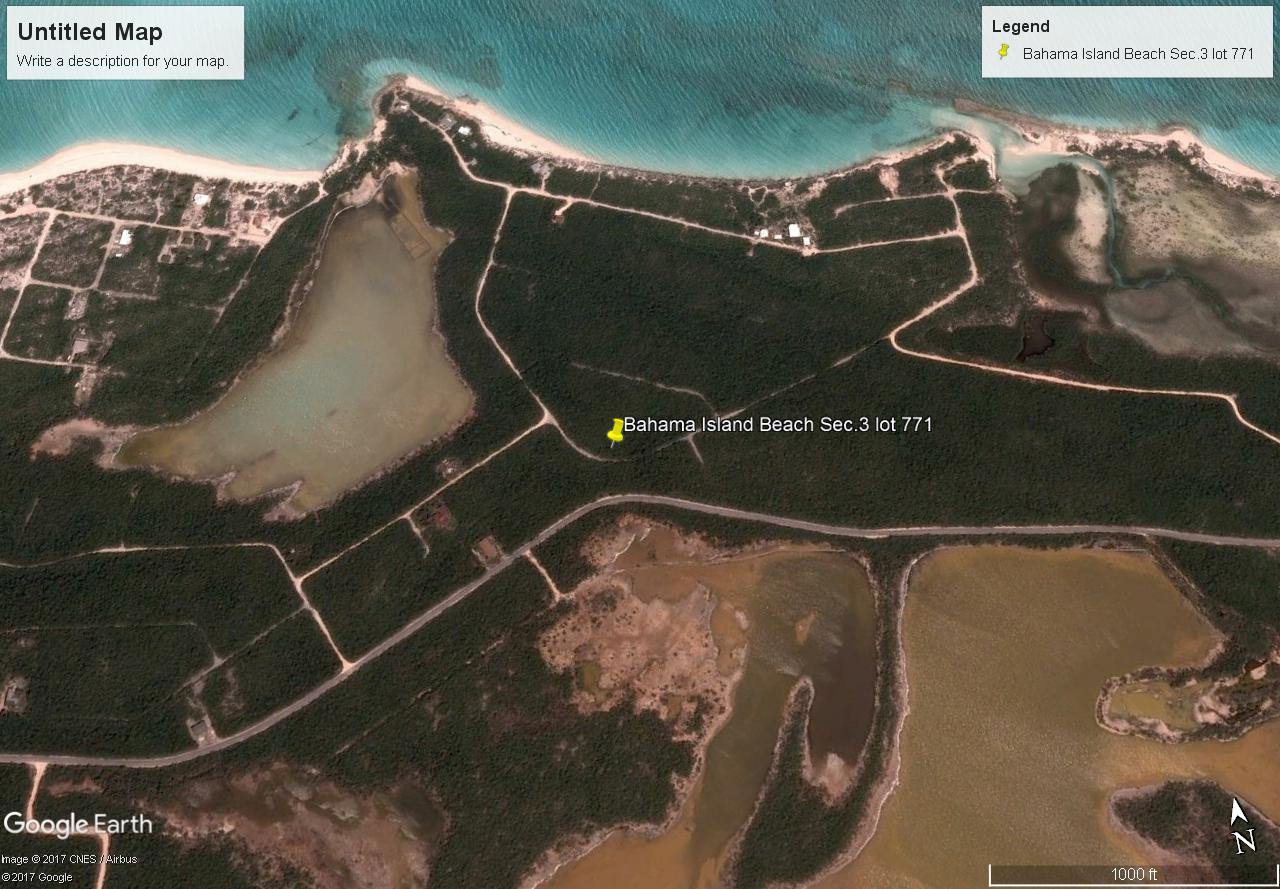 Land for Sale at Little Exuma Vacant Lot Bahama Island Beach, Exuma, Bahamas