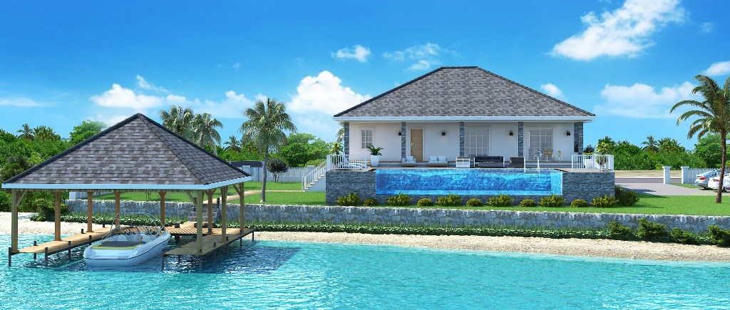 Single Family Home for Sale at Beachfront Home on Acklins Acklins Island, Bahamas