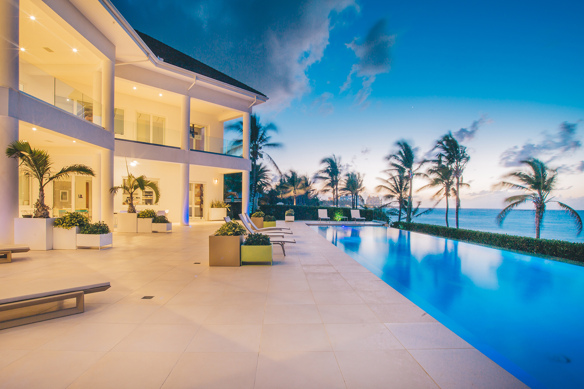 Single Family Home for Sale at 3 North Shore Terrace, A Contemporary Masterpiece Nassau New Providence And Vicinity