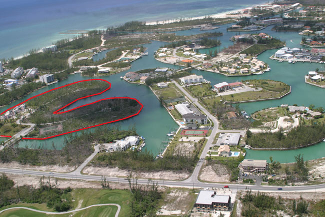 Terre / Lot de terrain pour l Vente à An Island Within An Island: A Developer's Dream Bahamas