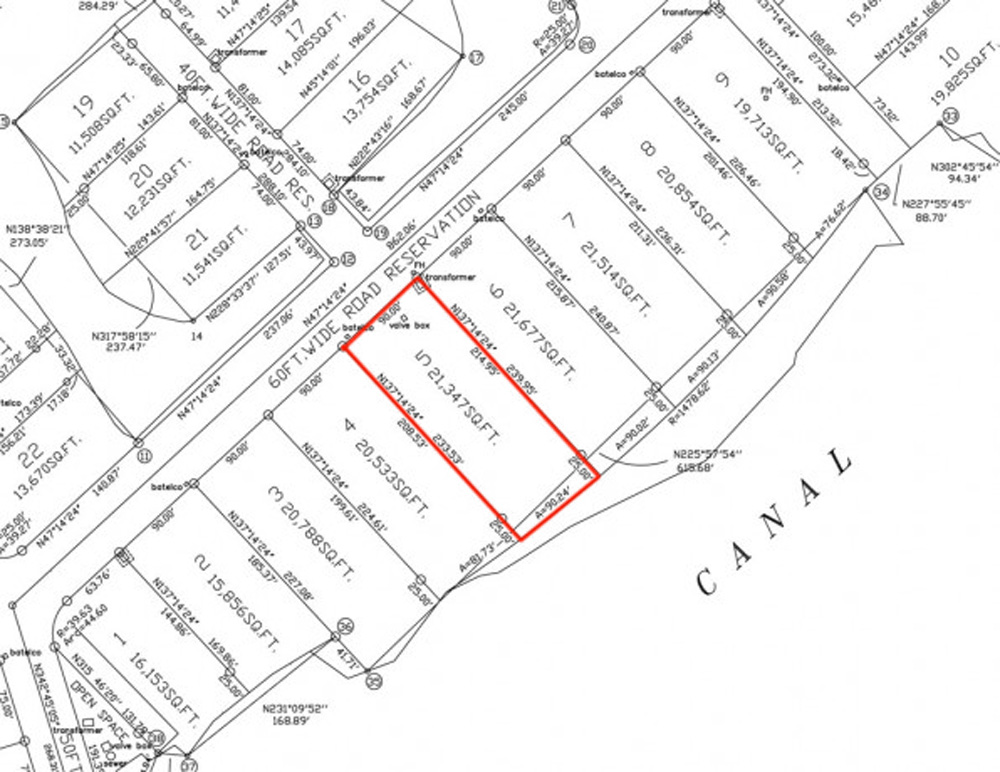 Additional photo for property listing at Charlotte and Fincastle Island Canalfront Lots 巴哈马