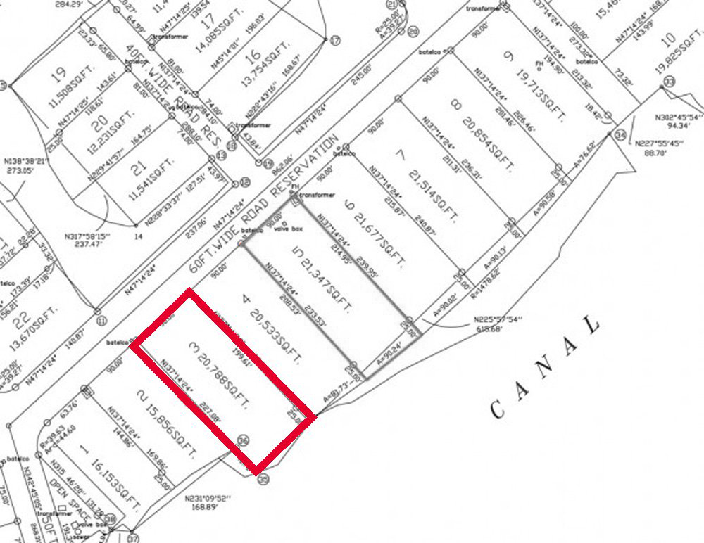 Additional photo for property listing at Charlotte and Fincastle Island Canalfront Lots 바하마
