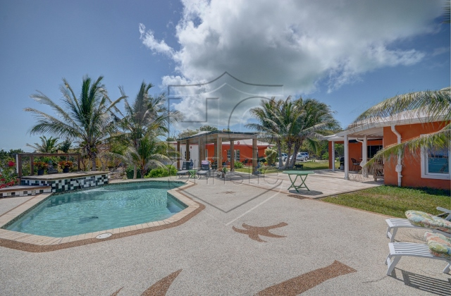 Additional photo for property listing at Four Bedroom Waterfront Home on Two Lots Overlooking Moriah Harbour Exumas, Μπαχαμεσ