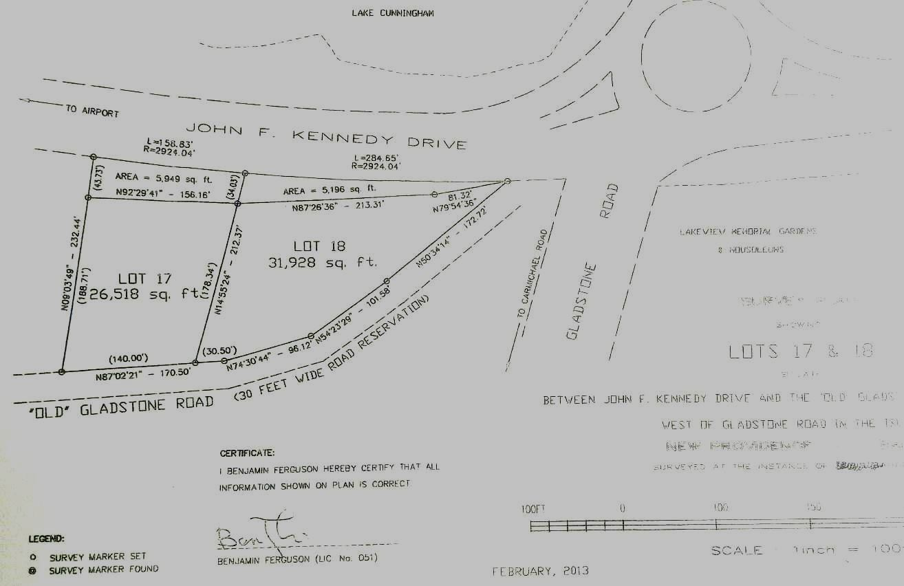 Additional photo for property listing at Open Zone, Elevated Lot, Overlooking JFK, Gladstone Road & Lake Cunningham Gladstone Road, Nassau And Paradise Island, Bahamas