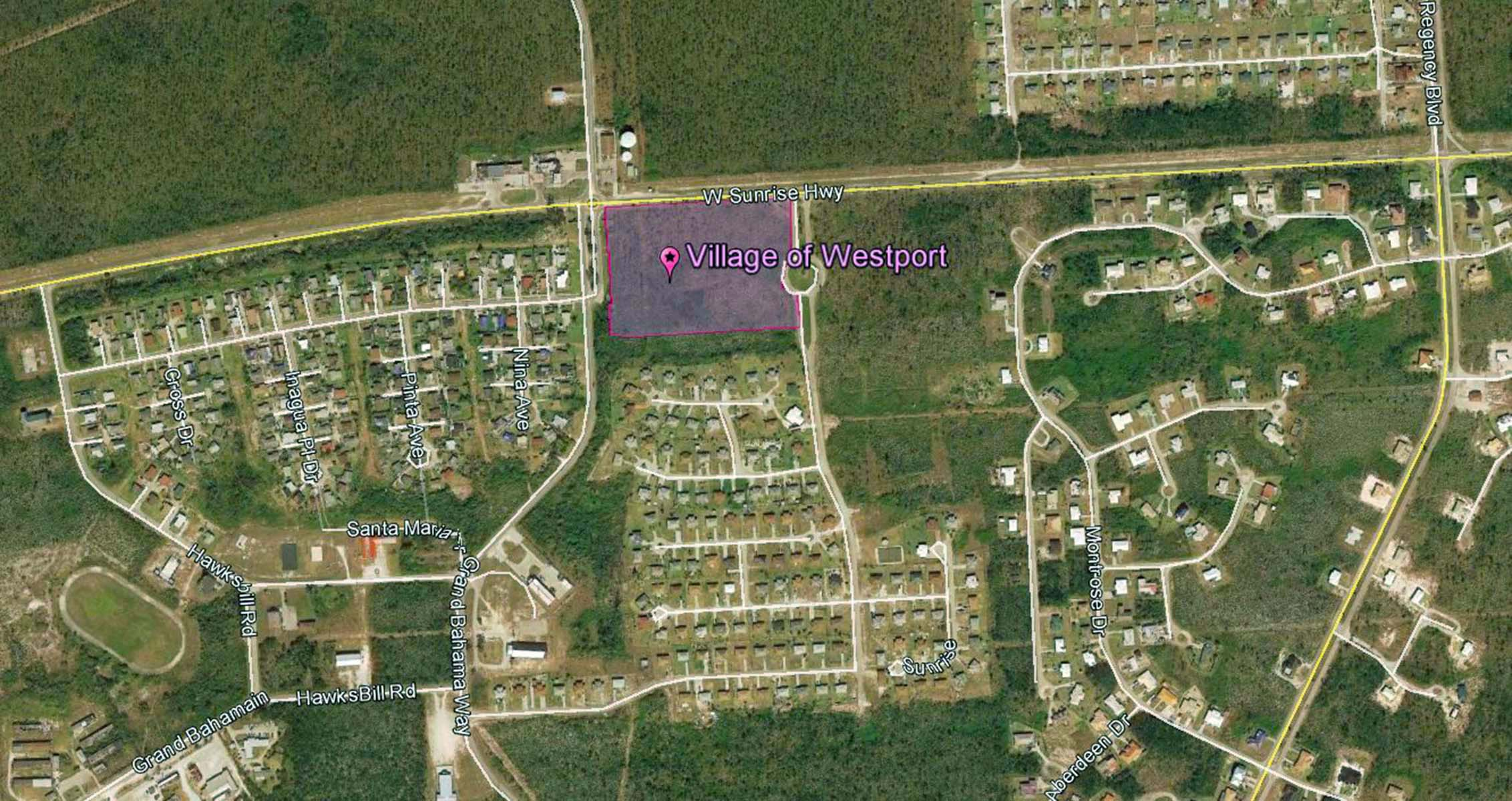 Additional photo for property listing at Village of Westport for Sale! 8.69 Acres in excellent location prime for development Sunrise Subdivision, Grand Bahama, Bahamas