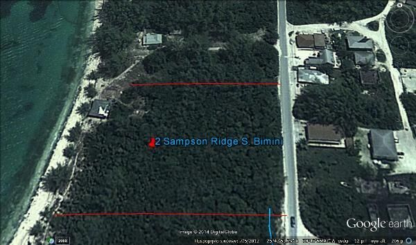 Additional photo for property listing at Beachfront Lot at Sampson Ridge Bimini, Bahamas