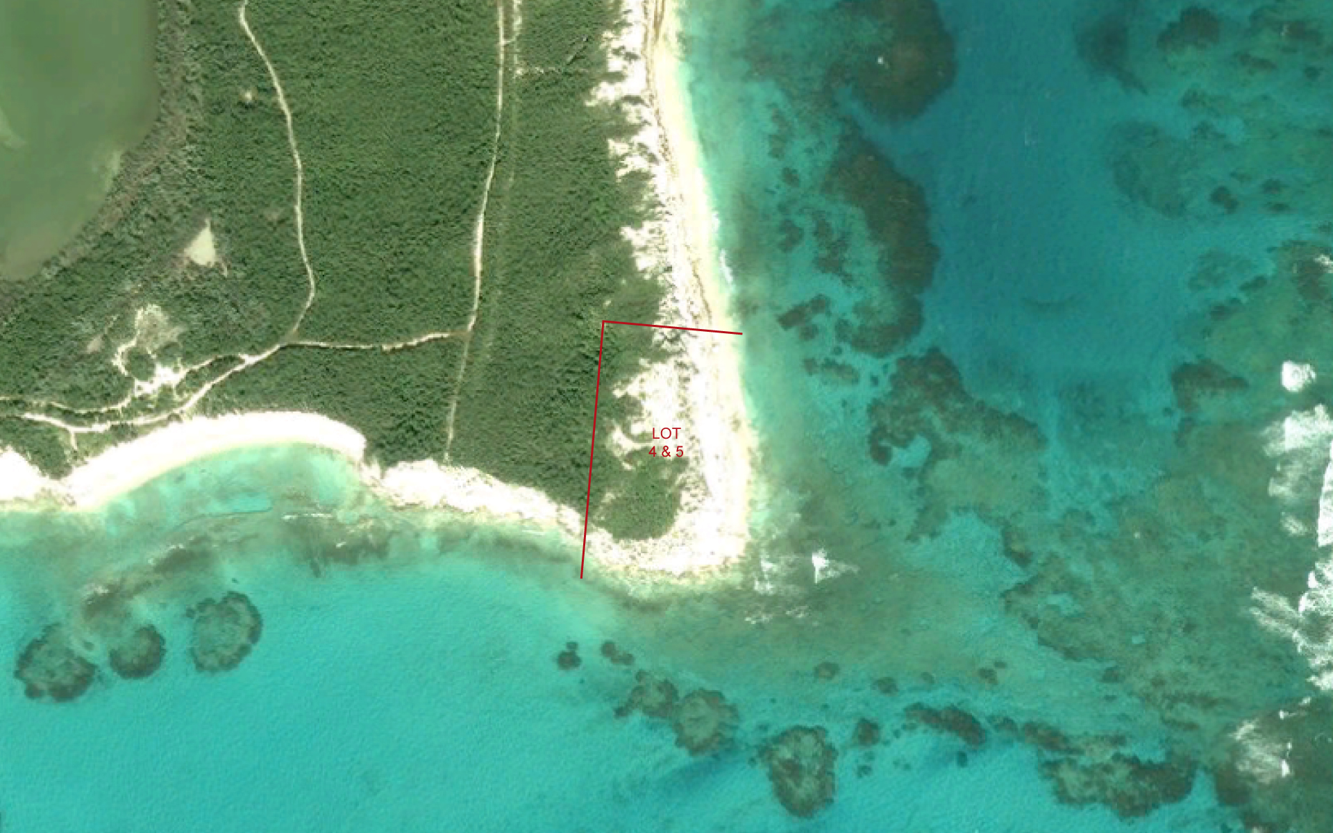 Additional photo for property listing at Beachfront lots in Rum Cay Rum Cay, Bahamas